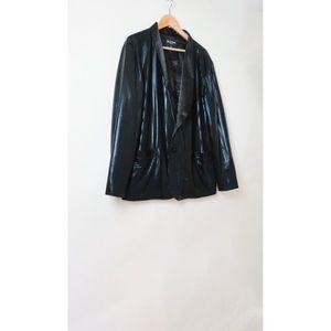 Betabrand black disco blazer jacket XL